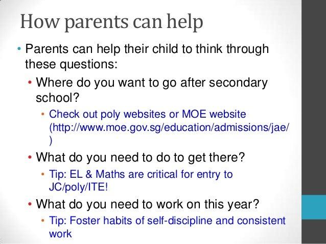 Principal's Briefing : Sec 2 Meet-Parents-Session on 1 June 2013
