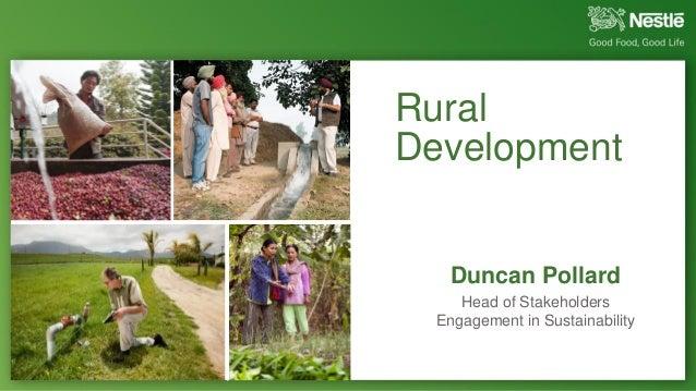 Rural DevelopmentDuncan PollardHead of StakeholdersEngagement in SustainabilityRuralDevelopment