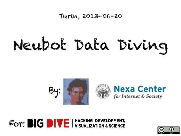 Neubot Data DivingBy:For:Turin, 2013-06-20