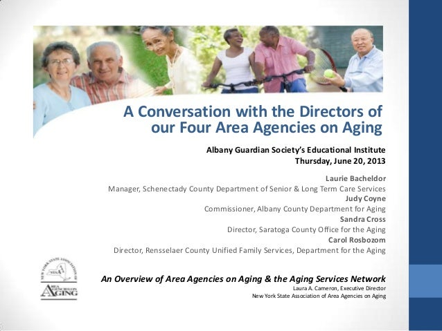 Albany Guardian Society's Educational Institute Thursday, June 20, 2013 Laurie Bacheldor Manager, Schenectady County Depar...