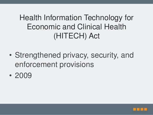 hippa and information technology This article discusses the role hipaa plays in health information technology, and  how the law aims to keep patient records safe learn more from usf health.