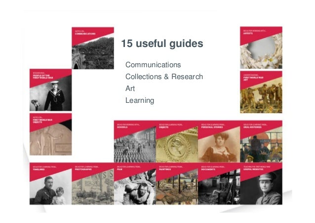 15 useful guides Communications Collections & Research Art Learning