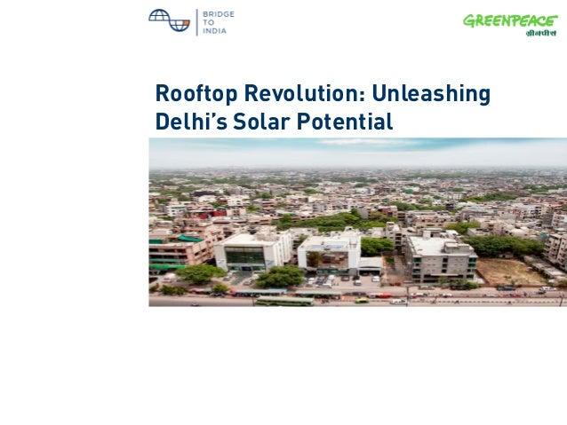 Rooftop Revolution: Unleashing Delhi's Solar Potential