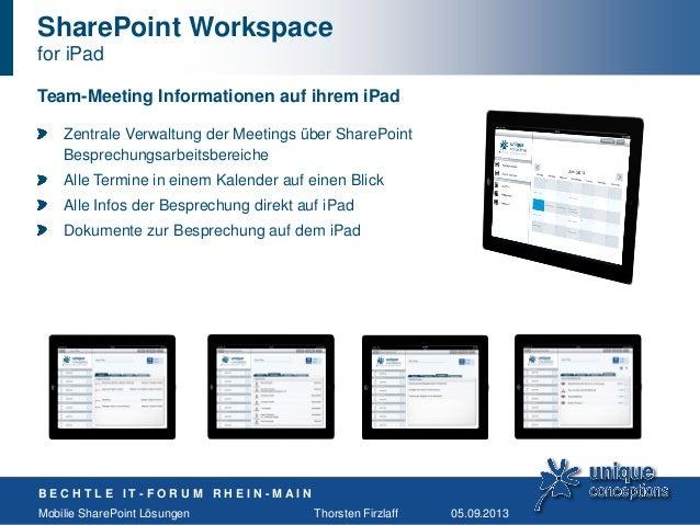 2013 09 05 bechtle it forum rhein main for Sharepoint 2013 meeting workspace template