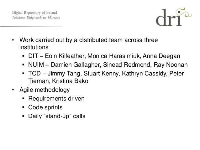 DRI Pilot Repository Overview Slide 3