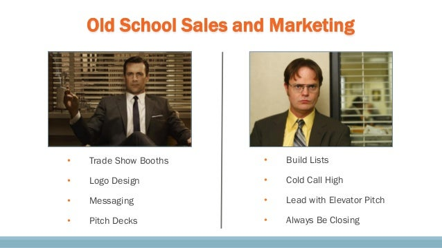 Old School Sales and Marketing • Trade Show Booths • Logo Design • Messaging • Pitch Decks • Build Lists • Cold Call High ...