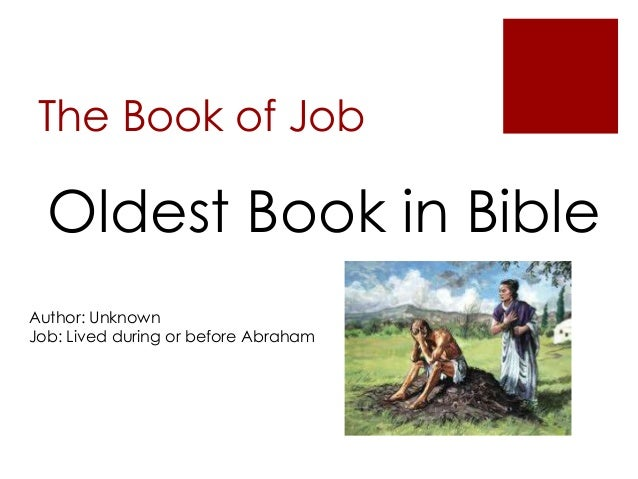 An analysis of the theme of suffering in the book of job in the bible