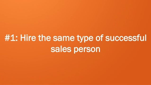 Building a Scalable Sales Team Slide 3