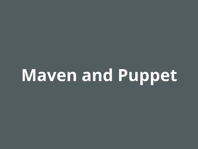 "Installing Maven  $repo1 = { id => ""myrepo"", username => ""myuser"", password => ""mypassword"", url => ""http://repo.acme.com""..."