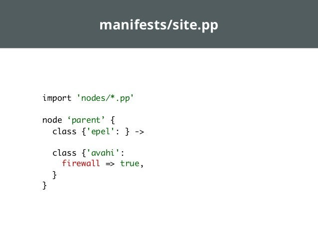 rspec-puppet  Unit testing your puppet manifests Ensuring packages, config files, services,...