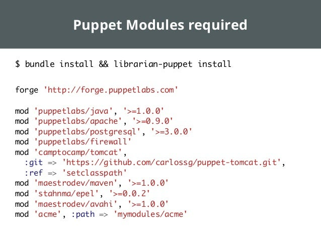 Infrastructure testing with Jenkins, Puppet and Vagrant