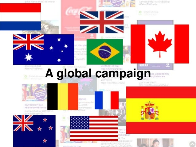 A global campaign