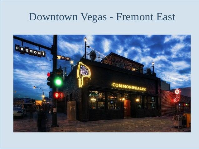 Downtown Vegas - Fremont East  Slide 16