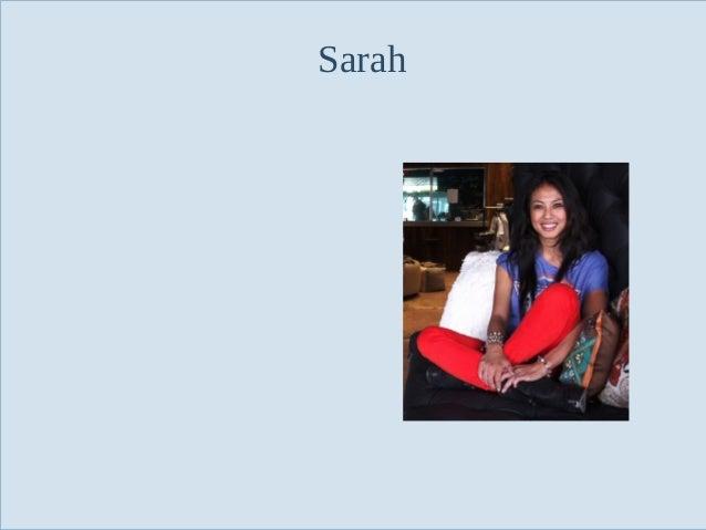 Sarah  Slide 49