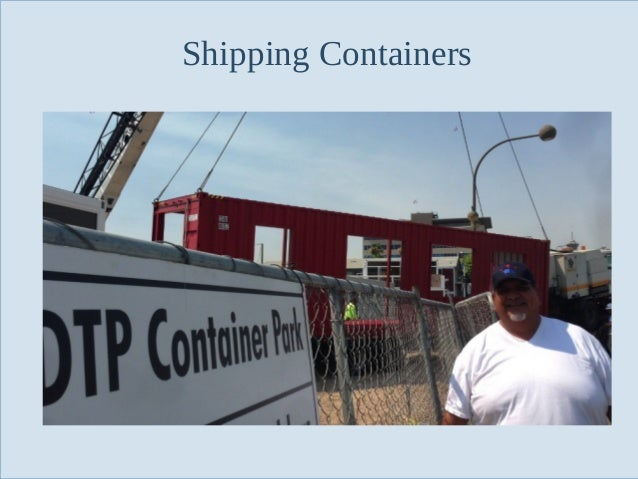 Shipping Containers  Slide 53