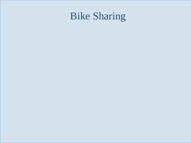 Bike Sharing  Slide 59