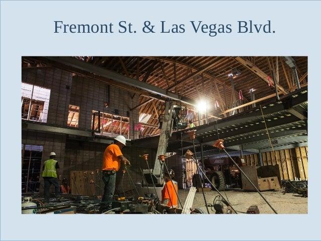 Fremont St. & Las Vegas Blvd.  Slide 87