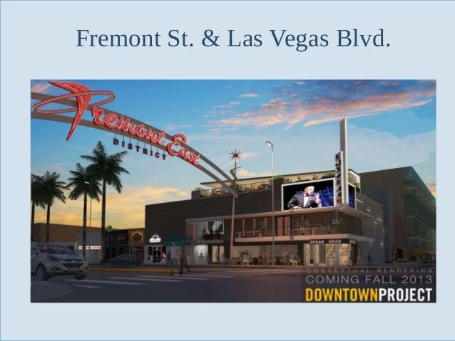 Fremont St. & Las Vegas Blvd.  Slide 88