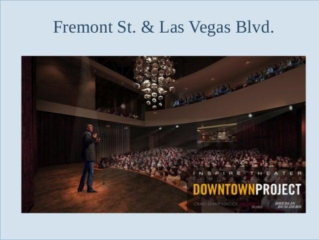 Fremont St. & Las Vegas Blvd.  Slide 89