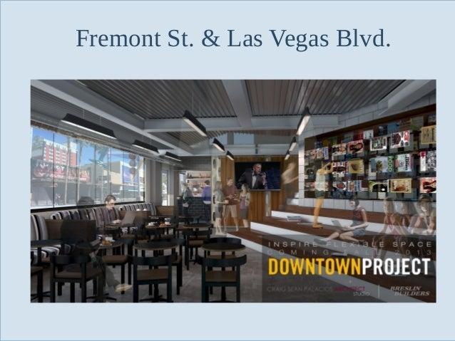 Fremont St. & Las Vegas Blvd.  Slide 90