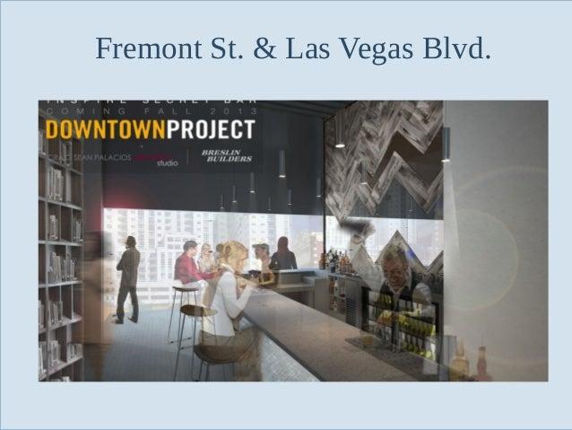 Fremont St. & Las Vegas Blvd.  Slide 91