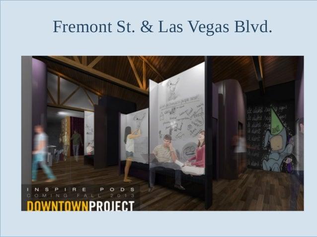 Fremont St. & Las Vegas Blvd.  Slide 92