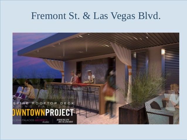 Fremont St. & Las Vegas Blvd.  Slide 95