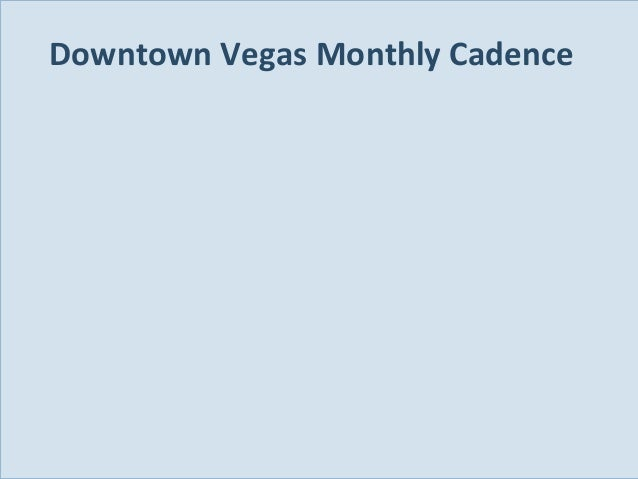 Downtown Vegas Monthly Cadence  Slide 96