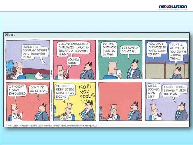 El Balanced Scorecard encadena la visión y la estrategia con las acciones cotidianas de los empleados MISION Porque existi...