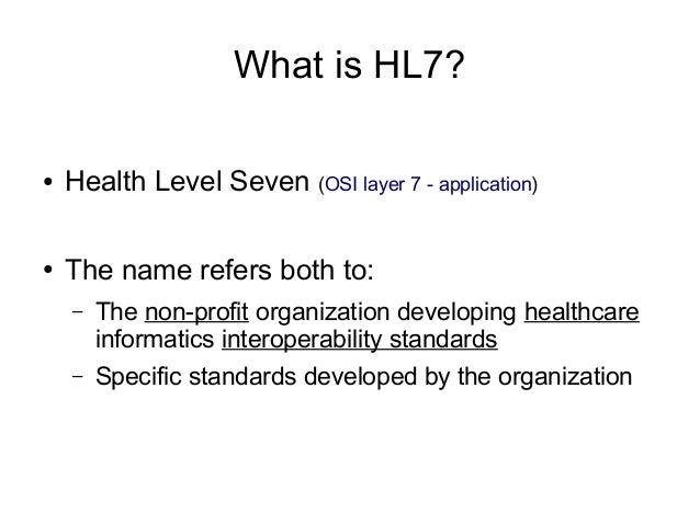 GNU Health and HL7