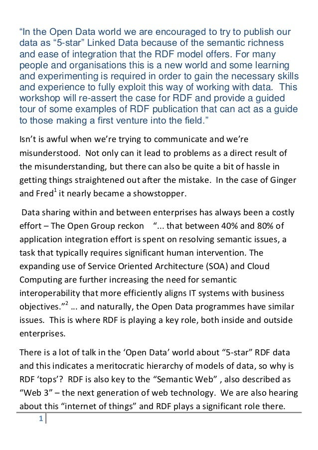 """In the Open Data world we are encouraged to try to publish our data as ""5-star"" Linked Data because of the semantic richn..."