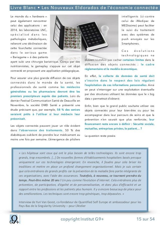 ;  Livre Blanc • Les Nouveaux Eldorados de l'économie connectée Le monde du « hardware »  intelligents (ci-contre  peut ...