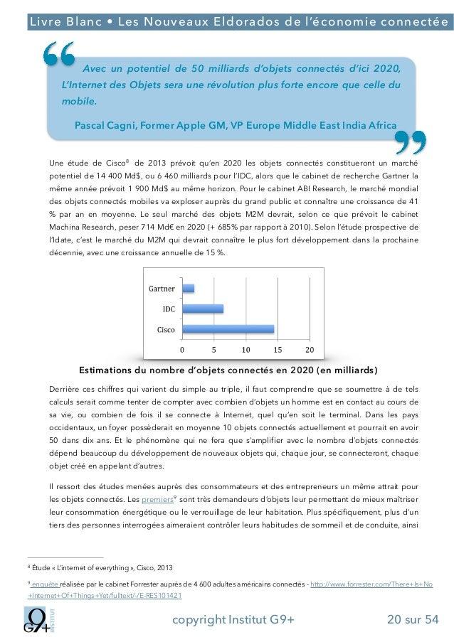 ;  Livre Blanc • Les Nouveaux Eldorados de l'économie connectée  Avec un potentiel de 50 milliards d'objets connectés d'ic...