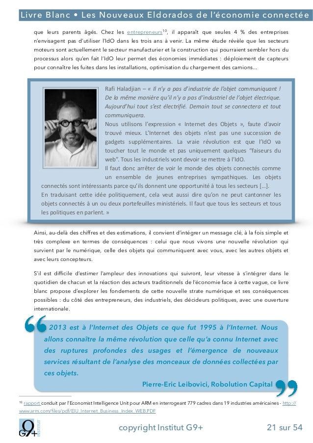 ;  Livre Blanc • Les Nouveaux Eldorados de l'économie connectée que leurs parents âgés. Chez les entrepreneurs10 , il appa...
