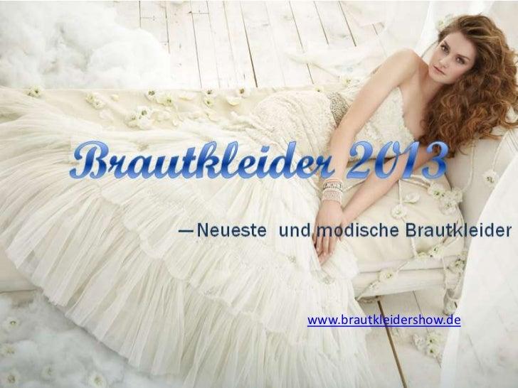 www.brautkleidershow.de