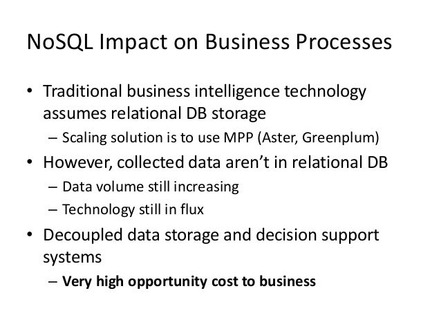 Technology Management Image: 20130617 NoSQL And SQL Work Side-by-Side To Tackle Real