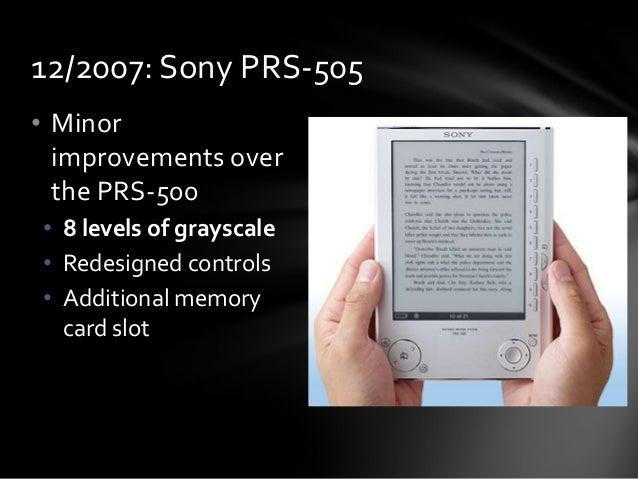 Download software sony ebook reader prs-505