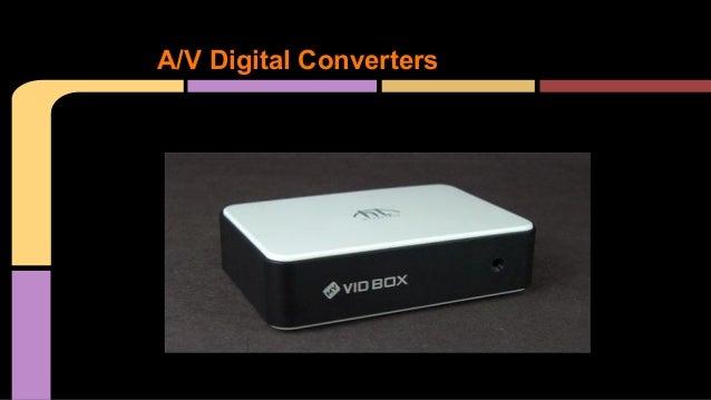 A/V Digital Converters