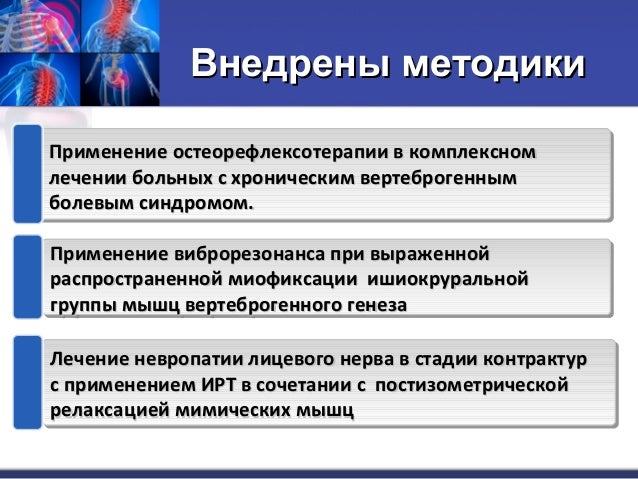 Международный протокол лечения остеохондроза