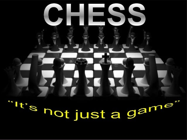 Chess is a two-player strategy board game played on a chessboard, a checkered gameboard with 64squares arranged in an eig...