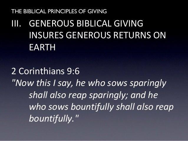 Seven Financial Stewardship Principles for Churches