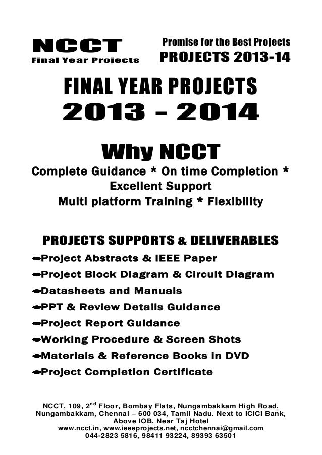 2013 14 embedded systems project list - non ieee based embedded - ele…