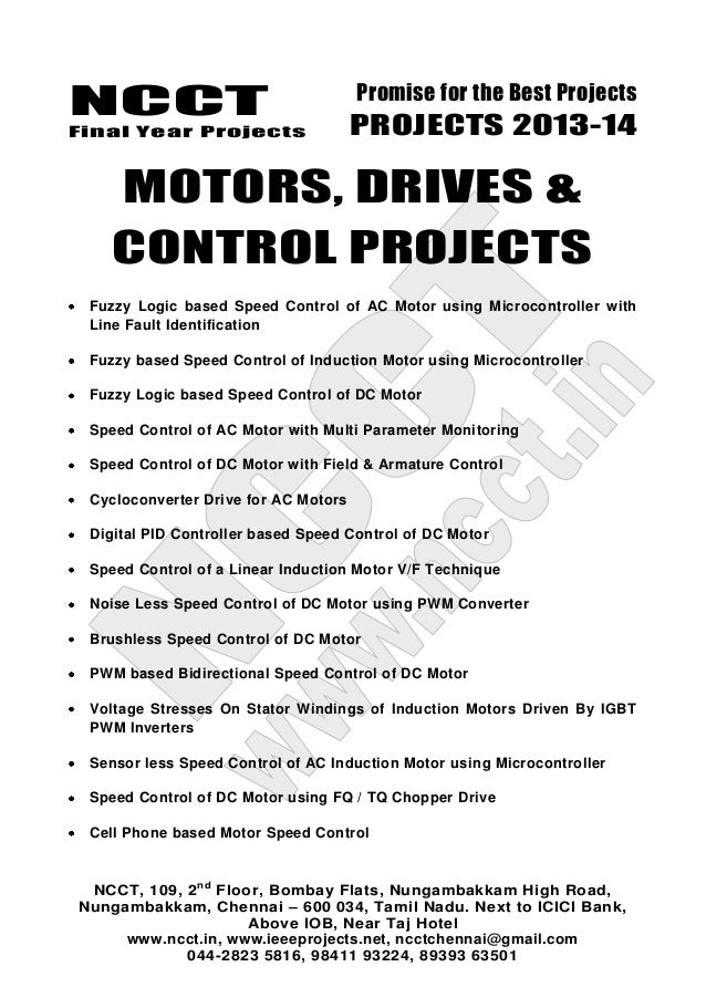 2013 14 embedded systems project list - non ieee based embedded