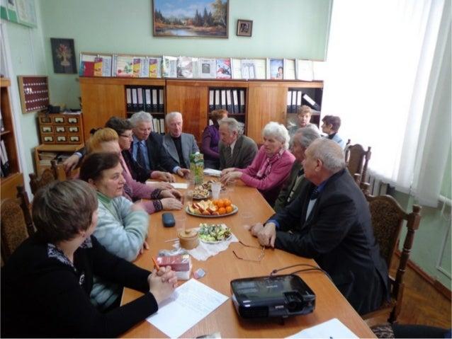 зустріч колишніх працівників школи (лютий 2013)
