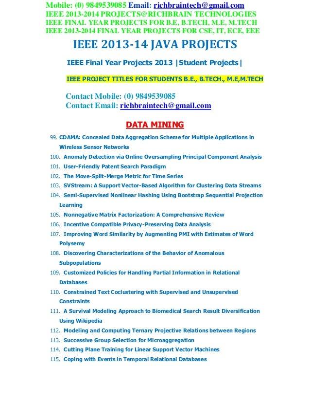 2013 2014 ieee java project titles richbraintechnologies