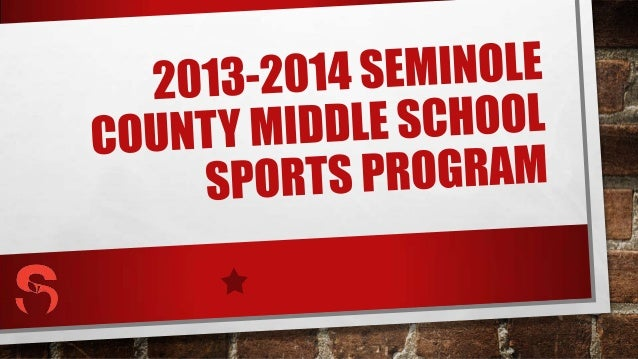MIDDLE SCHOOL SPORTS MISSION THE MIDDLE SCHOOL SPORTS PROGRAM WILL PROVIDE A SAFE AND ORGANIZED ENVIRONMENT FOR FRIENDLY C...