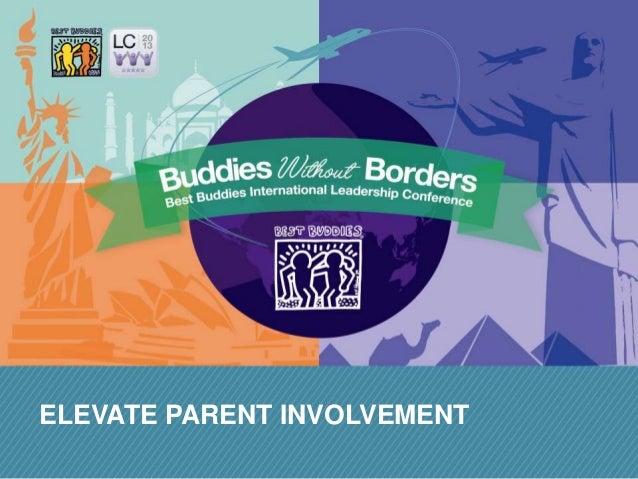 ELEVATE PARENT INVOLVEMENT