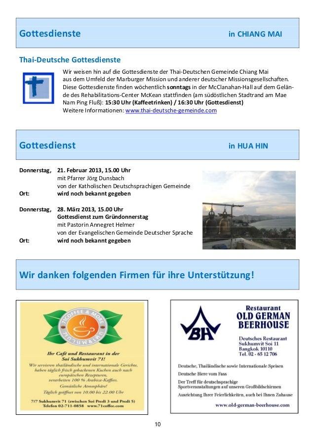 Gottesdienste                                                      inCHIANGMAIThai‐DeutscheGottesdienste...