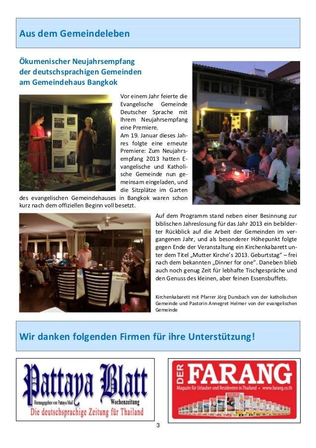 AusdemGemeindelebenÖkumenischerNeujahrsempfangderdeutschsprachigenGemeindenamGemeindehausBangkok         ...