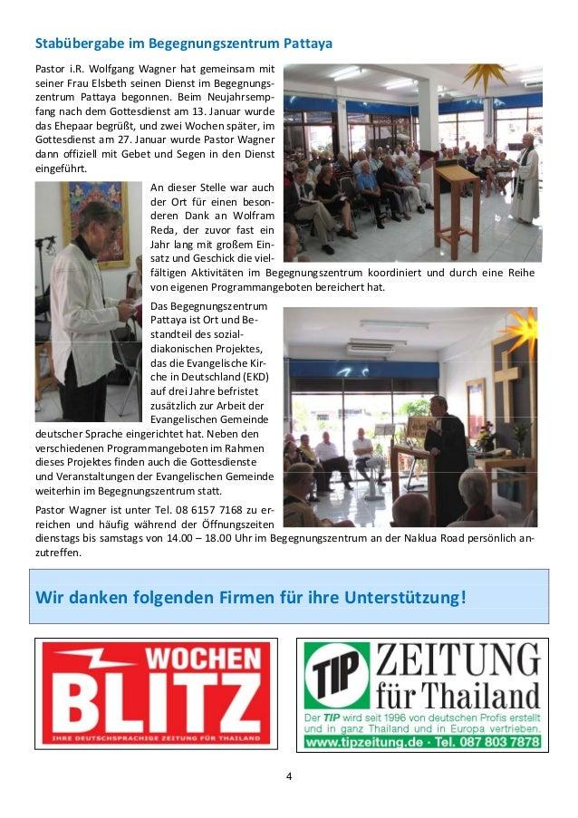 StabübergabeimBegegnungszentrumPattayaPastor i.R. Wolfgang Wagner hat gemeinsam mitseinerFrauElsbethseinen...